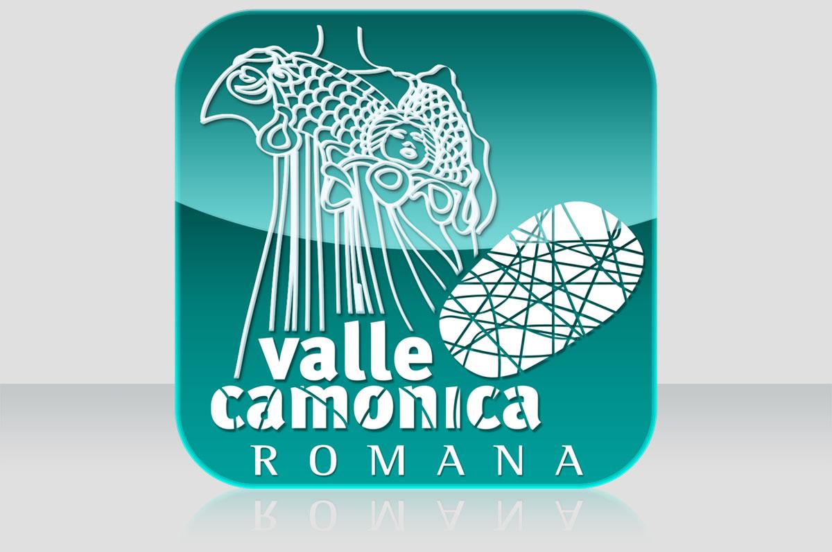 Logo per App Valle Camonica Romana