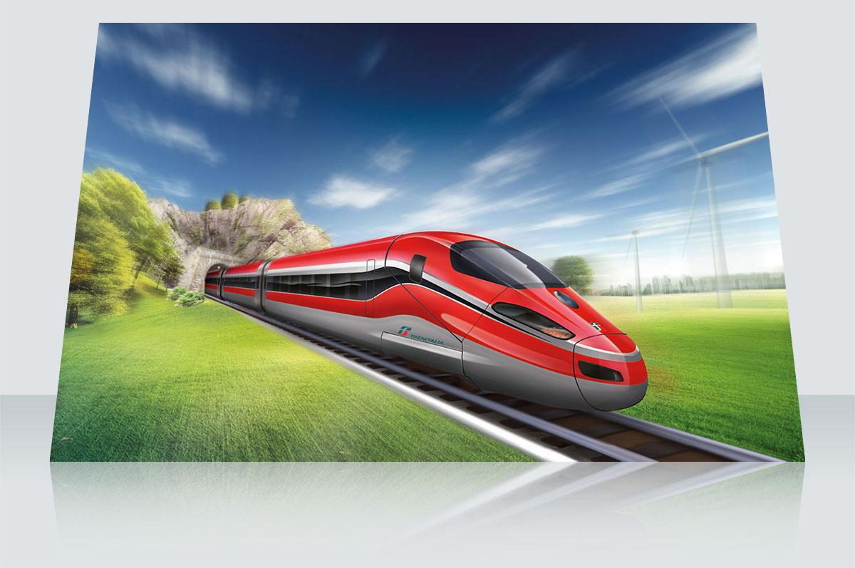 Illustrazione: Treno