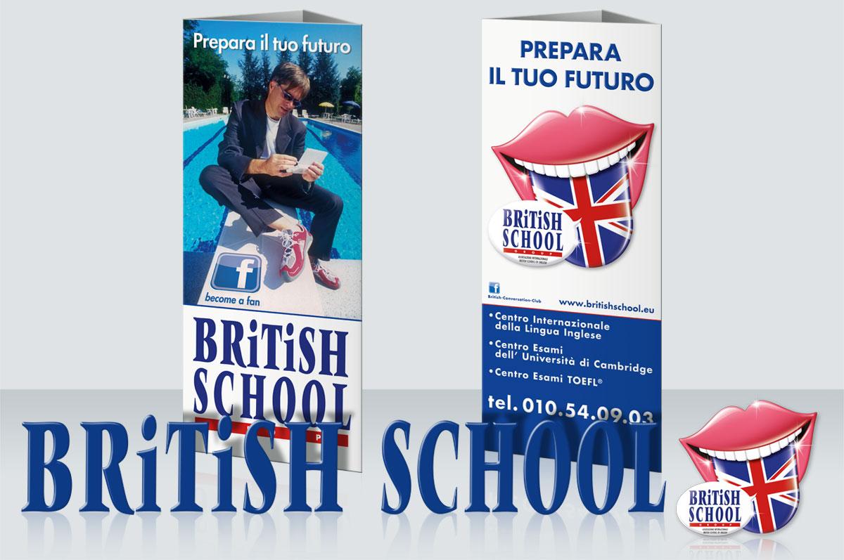 Totem ed Espositori Britisch School