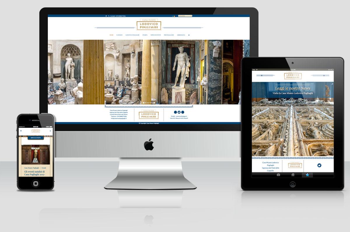 sito web Casa Museo Pogliaghi