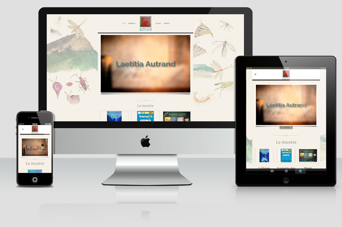 sito web Laetitia Autrand