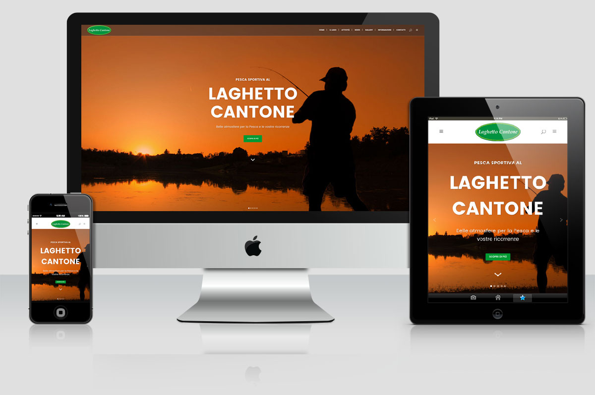 Sito web Laghetto Cantone
