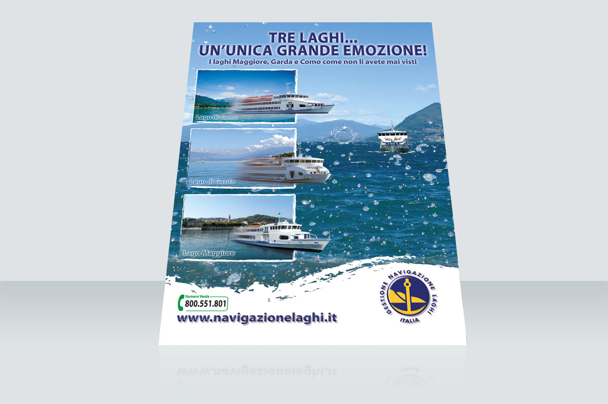 Advertising Navigazione Laghi