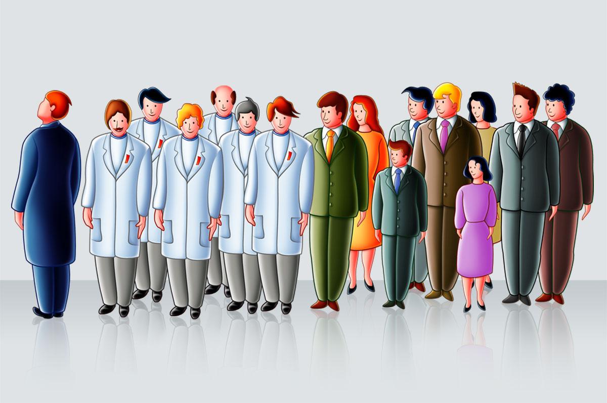 Illustrazione farmaceutica disfagia