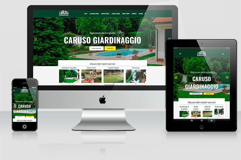 SSito web Caruso Giardinaggio