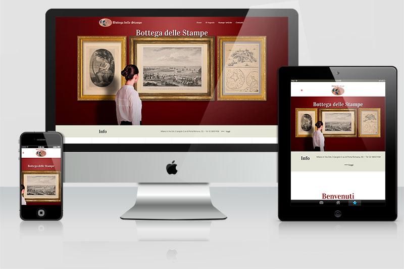 Sito web Bottega delle stampe