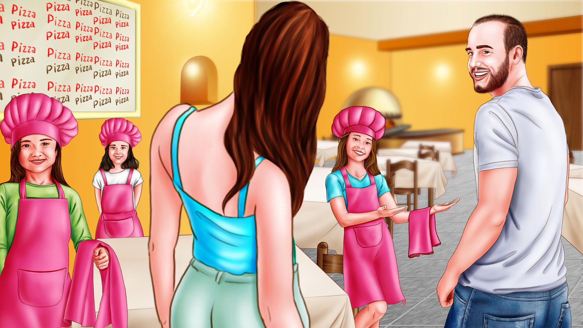 Storyboard Barbie Pizzaiola
